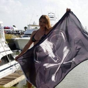 Western JR Bull Flag
