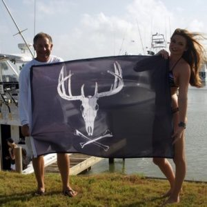 Western JR Buck Flag