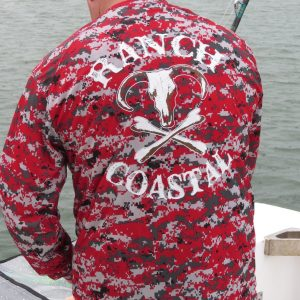 Red Digital Camo Jolly Roger Bull