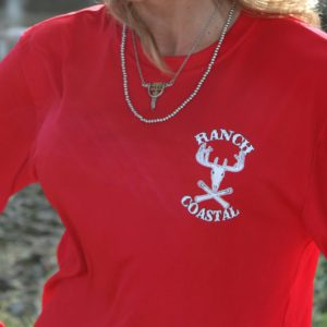 Red Jolly Roger Buck LS