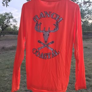 Day Glow Orange JR Buck LS
