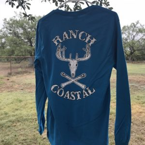 Turquoise Jolly Roger Buck LS