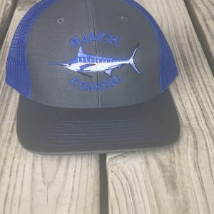 Blue Marlin Charcoal/Royal Cap
