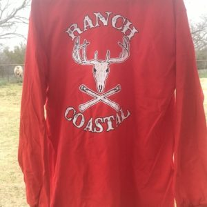 Red JR Buck LS Cotton