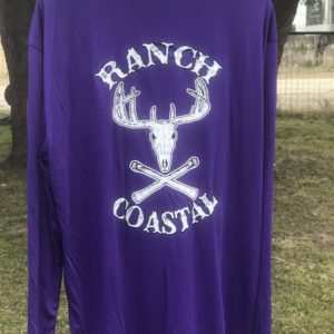 Purple Jolly Roger Buck LS