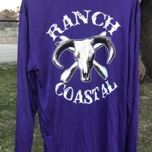 Purple Jolly Roger Bull LS