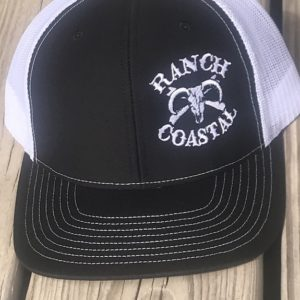 Black and White JR Bull Cap