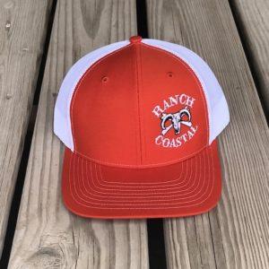 Orange & White JR Bull Cap