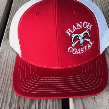 Red & White cap